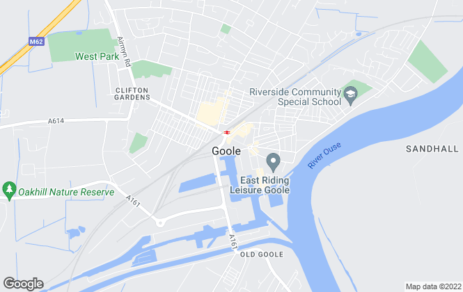 Map for Neville E. Townend, Goole