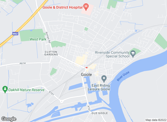 Map for Apian Estate Agents, Goole