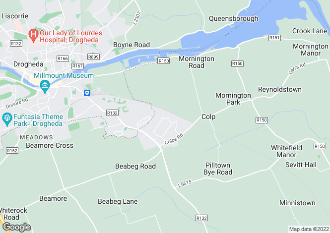 Map for 10 Park Glen, Grange Rath, Drogheda, Meath