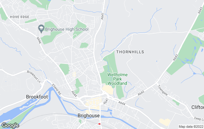 Map for Towngate PLC, West Yorkshire