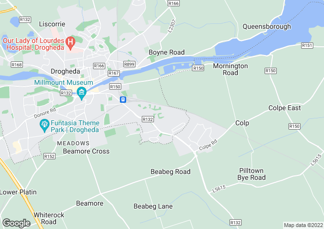 Map for 8 Cnoc na Greine, Tullyallen, Louth