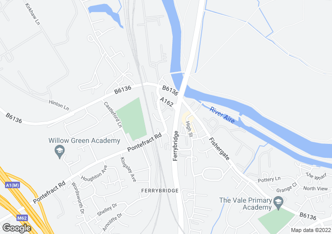 Map for Old Great North Road, Ferrybridge, West Yorkshire