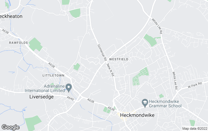 Map for Homesmart Sales & Lettings, Heckmondwike - Lettings