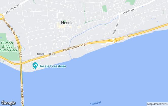 Map for Estates, Hull