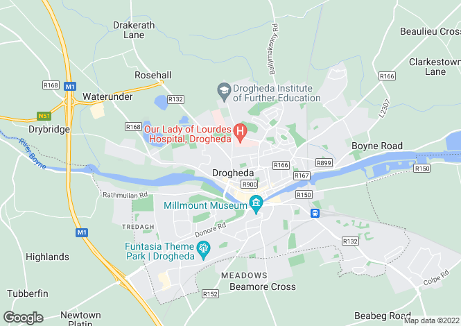 Map for Benmore, **REDUCED PRICE**, George's Street, Drogheda, Louth