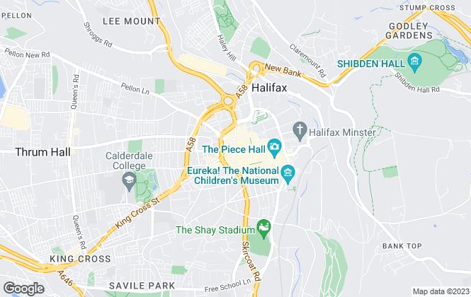 Map for Century 21 Halifax, Halifax