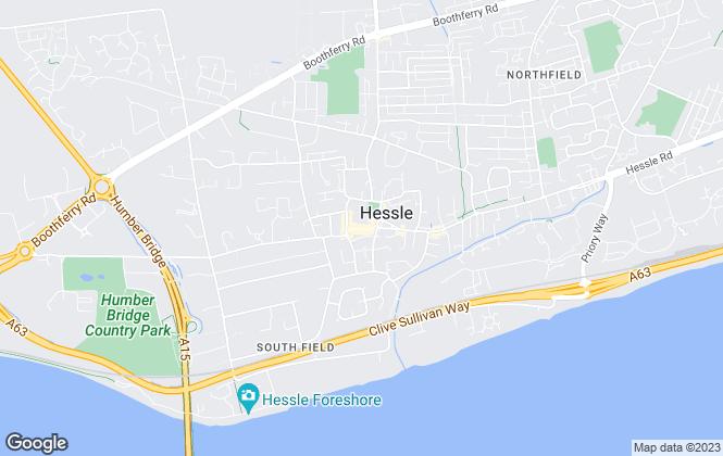 Map for Lovelle, Hessle