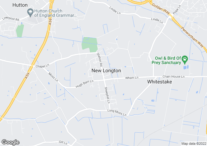 Map for Mill Lodge, 45 Station Road, PR4