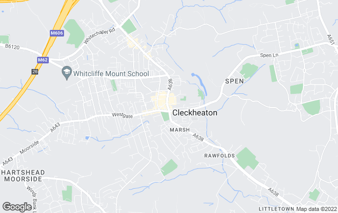 Map for Swift Property Management & Consultancy Ltd , Cleckheaton