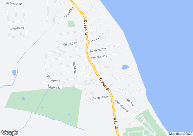 Map for Queen Street, WITHERNSEA, East Riding of Yorkshire
