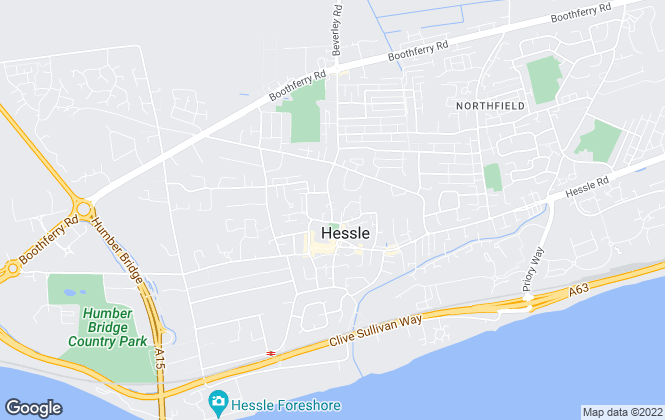 Map for CJ Property, Hessle