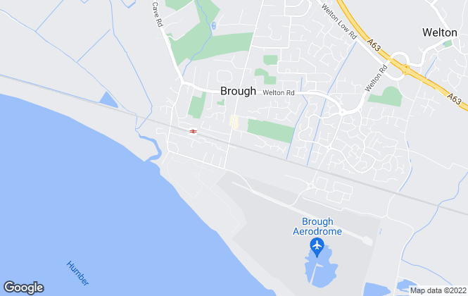 Map for East Riding of Yorkshire Council, Brough Business Centre