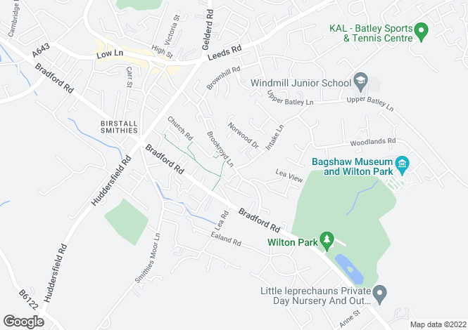 Map for The Bront� at Brookroyd View, Brookroyd Lane,