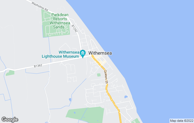 Map for Goodwin Fox, Withernsea