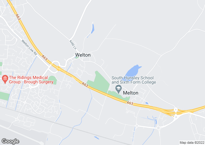 Map for Welton Old Road, Welton, East Yorkshire, HU15