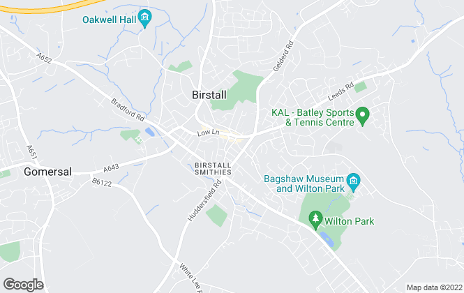 Map for Local Properties Estate Agents, Birstall