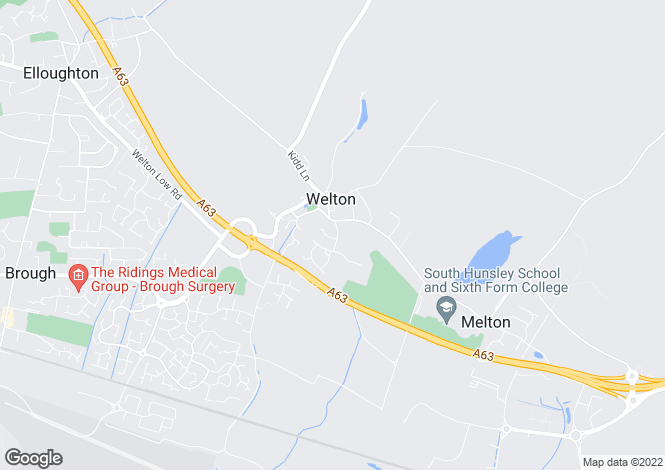 Map for Park Road, Welton, East Yorkshire, HU15