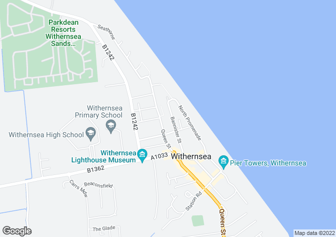 Map for Bannister Street, Withernsea, East Yorkshire