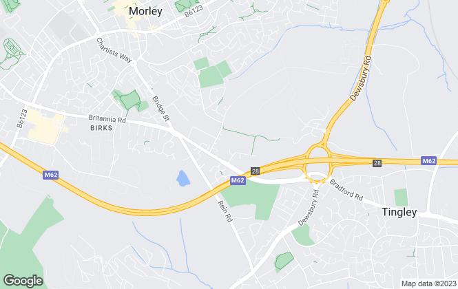 Map for Oakleaf Yorkshire West, Leeds