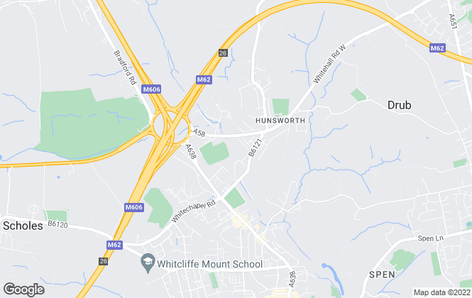 Map for Yorkshire Residential Sales & Letting Ltd , West Yorkshire