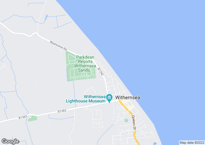 Map for North Road, WITHERNSEA, East Riding of Yorkshire