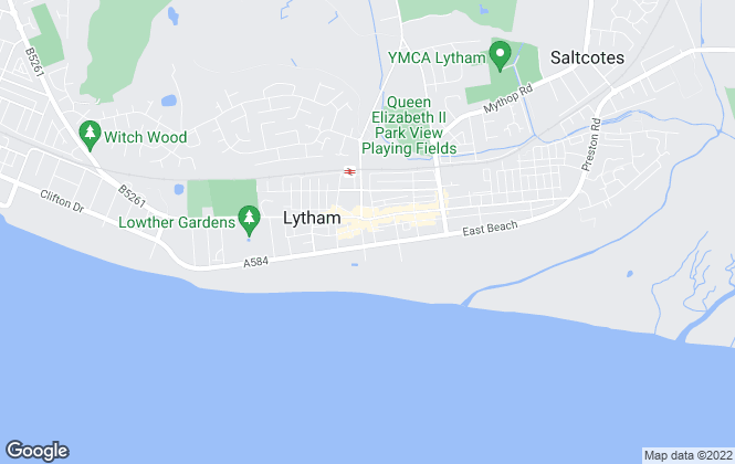 Map for JGL Operations Limited, Lytham (Lettings)