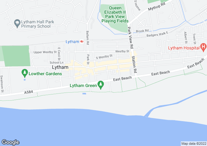 Map for South Clifton Street,