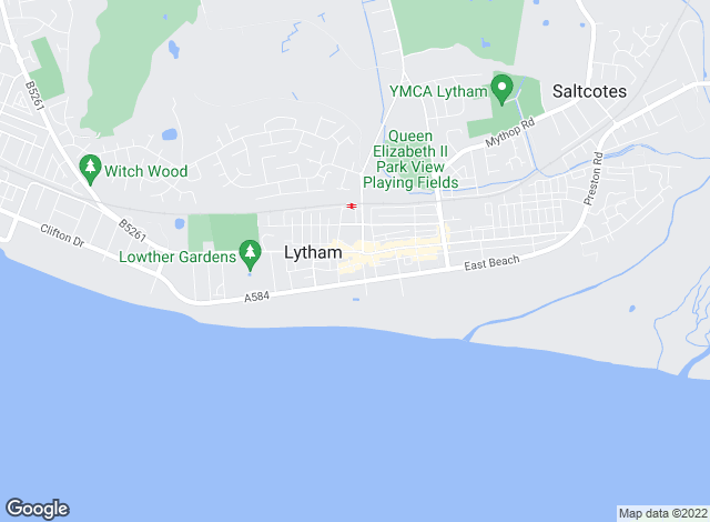 Map for Lytham Estate Agents, Lytham