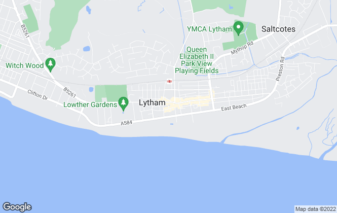 Map for Sell My Group, Lytham