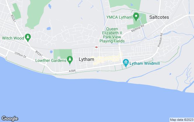 Map for Lytham Estate Agents, Lytham