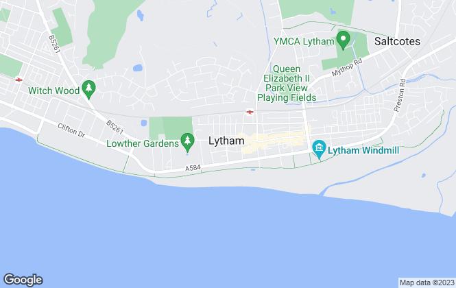 Map for Newbury Properties, Lancashire