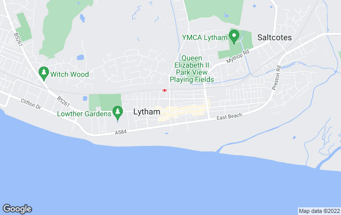 Map for Dunderdale Asquith Estate Agents, Lytham