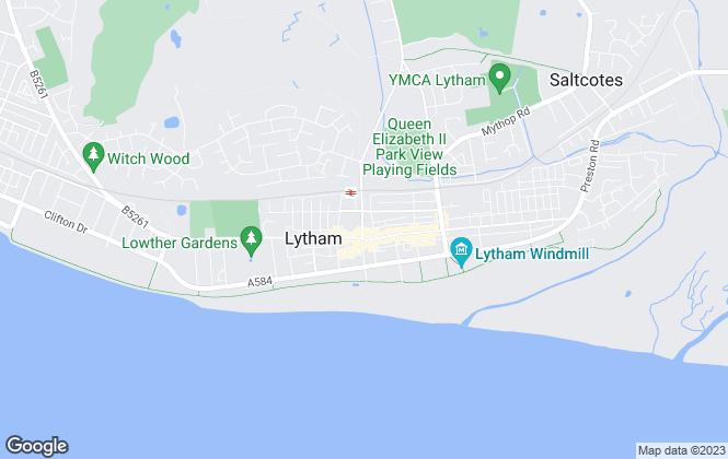 Map for John Ardern Estate Agents, Lytham