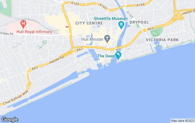 Map for Headstart Properties UK Ltd, Hull