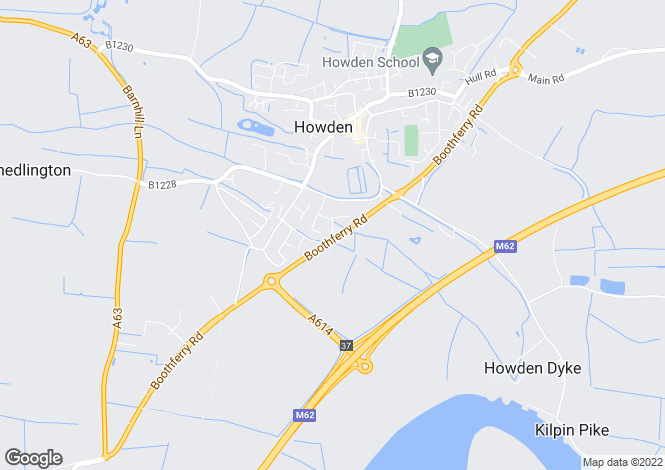 Map for 1 Hutchinson Way,