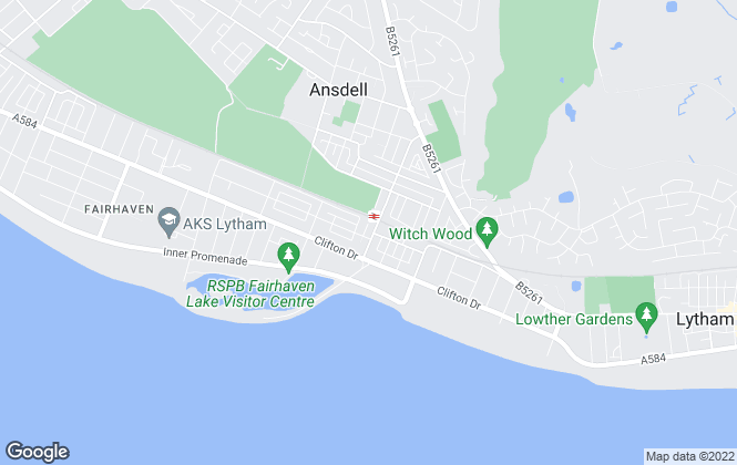 Map for Bright Move, Lytham St Annes