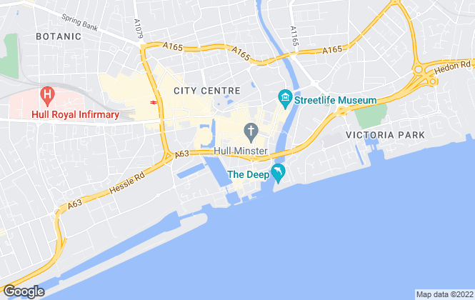 Map for Lets Sell, Hull