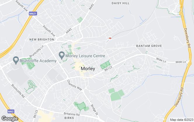 Map for Dan Pearce Sells Homes Estate Agency, Morley