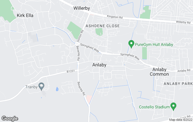 Map for Neil Kaye Estate Agents, Anlaby