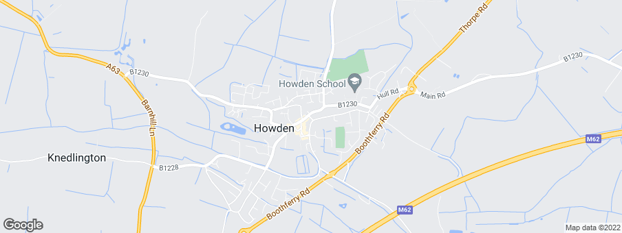 Map for Willow Developments (Howden) Ltd
