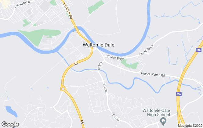 Map for Stonehouse Homes, Walton-Le-Dale