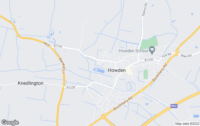 Map for Bellway Homes (Yorkshire)