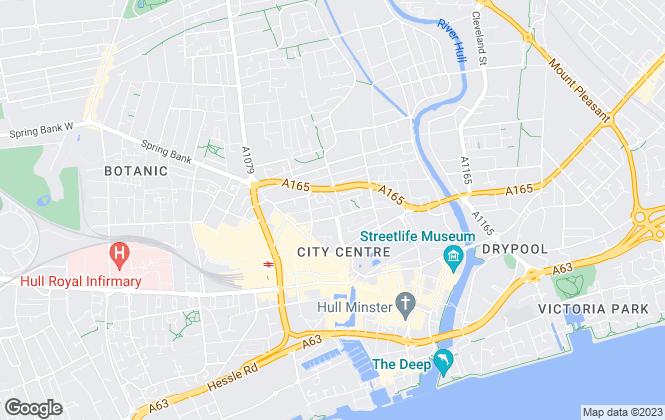 Map for Poppy Residential, Hull - Sales