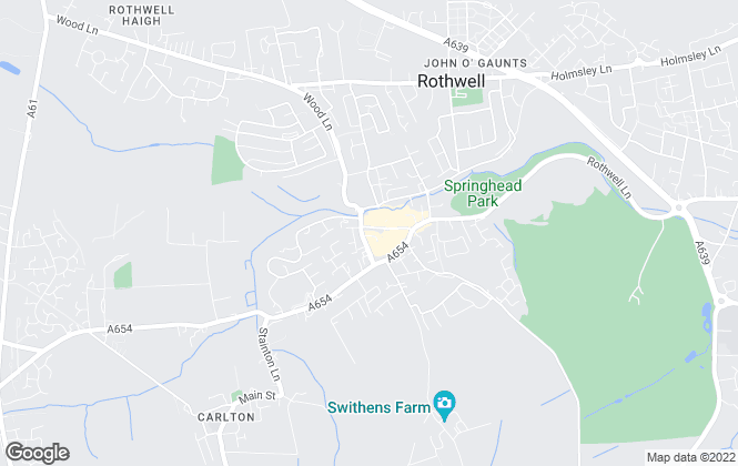 Map for Emsleys Estate Agents, Rothwell