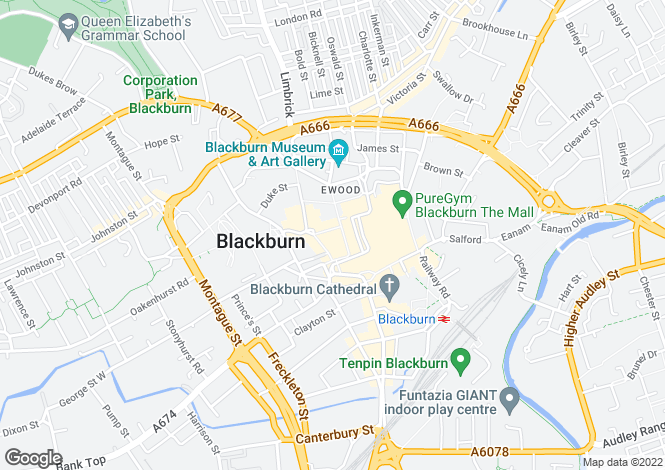 Map for The Cotton Exchange,