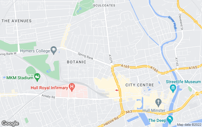 Map for Codys Estate Agents & Lettings, Hull