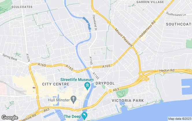 Map for Armadillo Self Storage, Armadillo Hull
