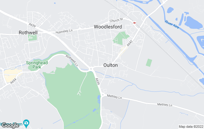 Map for Tudor Sales & Lettings, Oulton