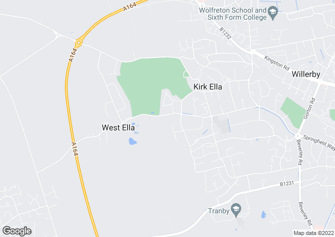 Map for Westella Road, Kirkella, East Yorkshire, HU10