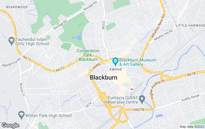 Map for Capita , Blackburn